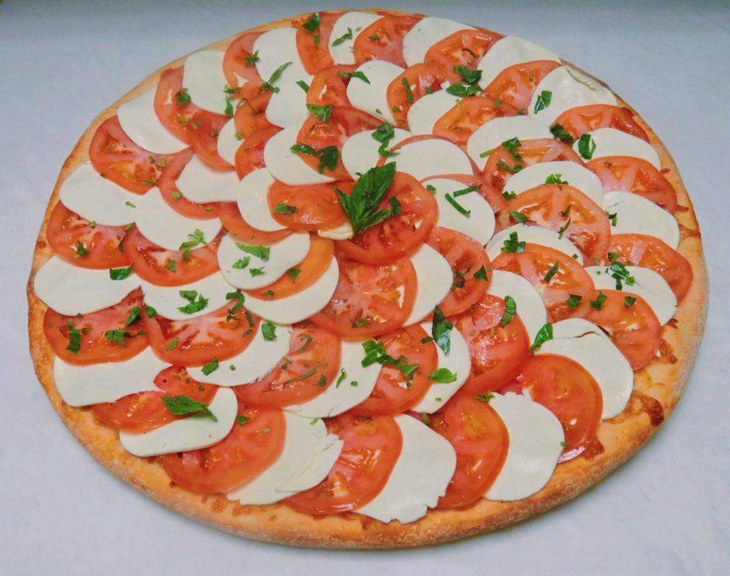 Tomato and Fresh Mozzarella Pizza